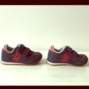 Saucony Jazz Suede Sneaker - toddler size 6